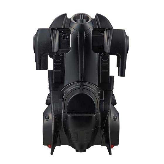 top view of batmobile
